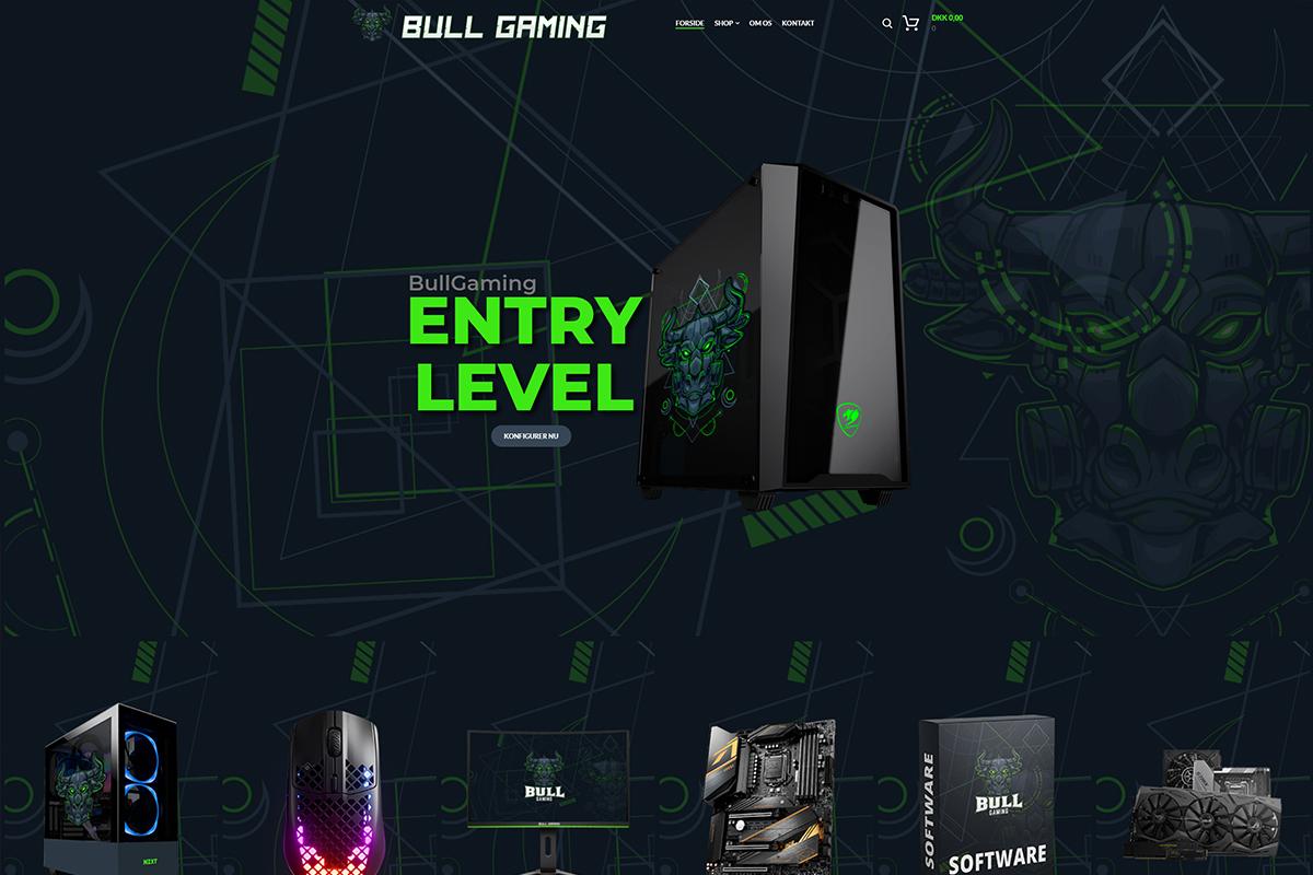 Webshop til Bullgaming.dk