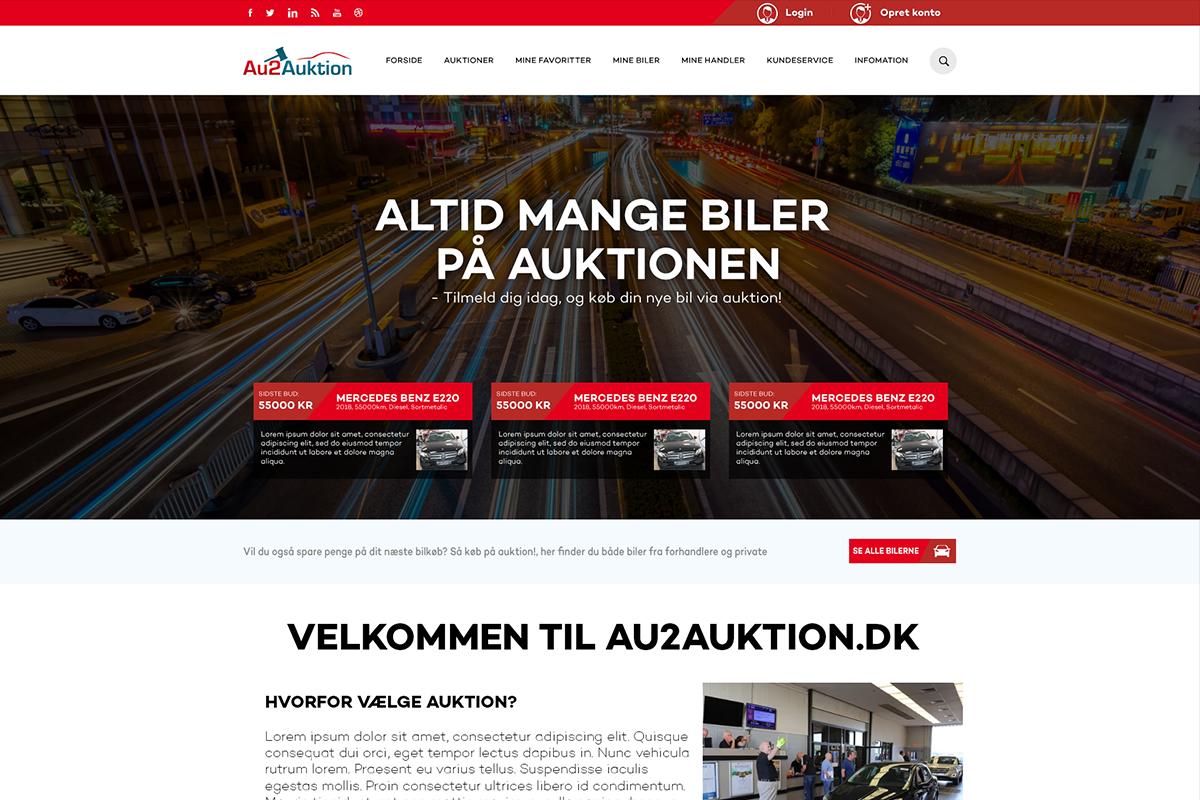 Online auktion til Au2 Auktion